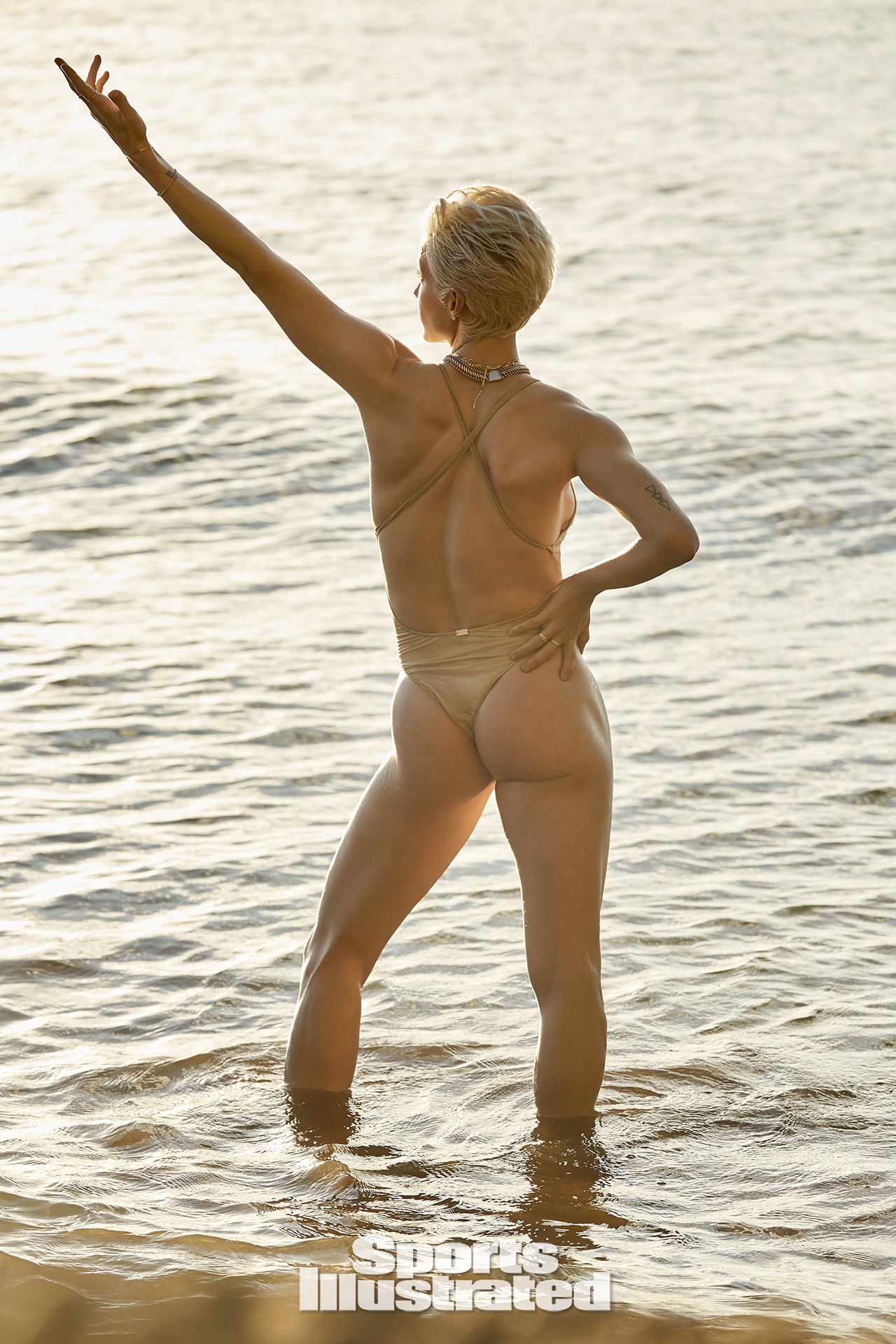 Megan Rapinoe in Sports Illustrated