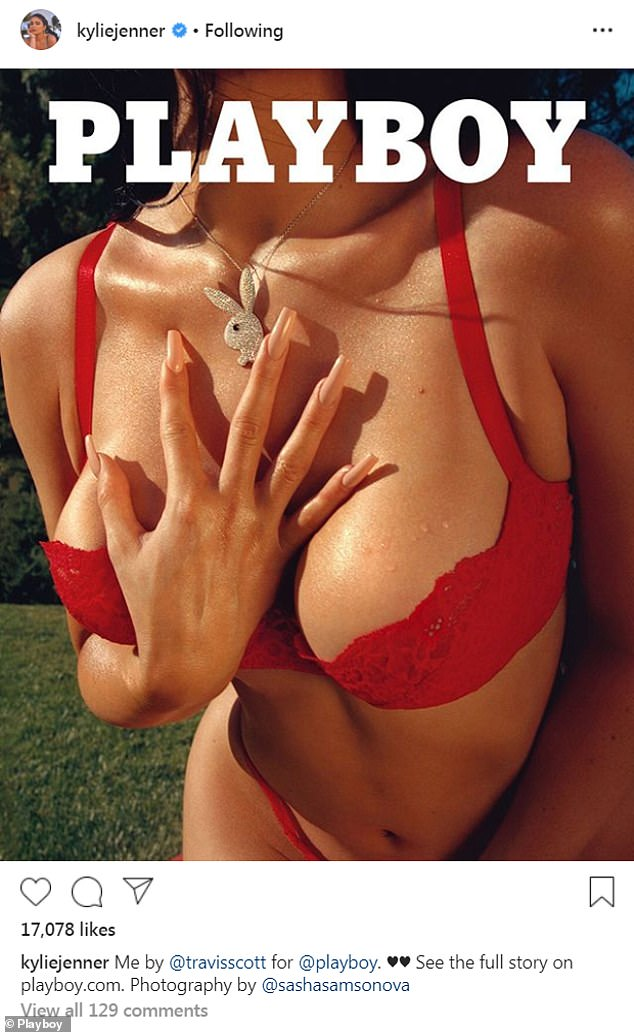 Kylie Jenner in de Playboy